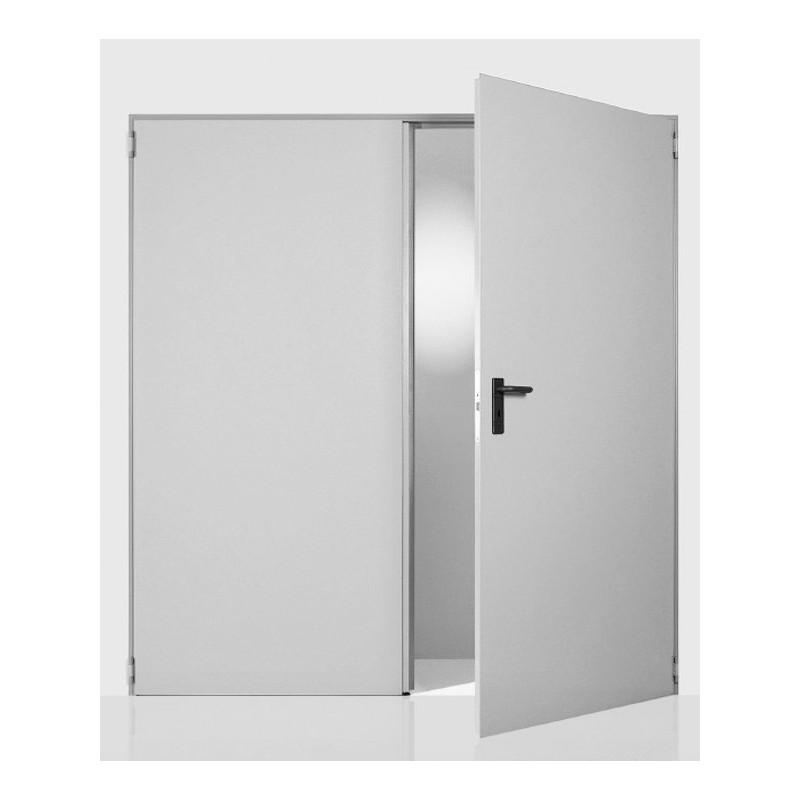 Δίφυλλη Μεταλλική Πόρτα Πυρασφαλείας NINZ UNIVER, 60 λεπτών