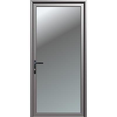 Πόρτα Καταστήματος 〡Οικίας με τζάμι