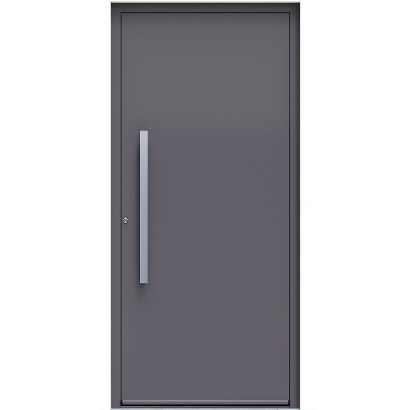 Πόρτα Οικίας Αλουμινίου Ασφαλείας WINDO X-100 με θερμομόνωση
