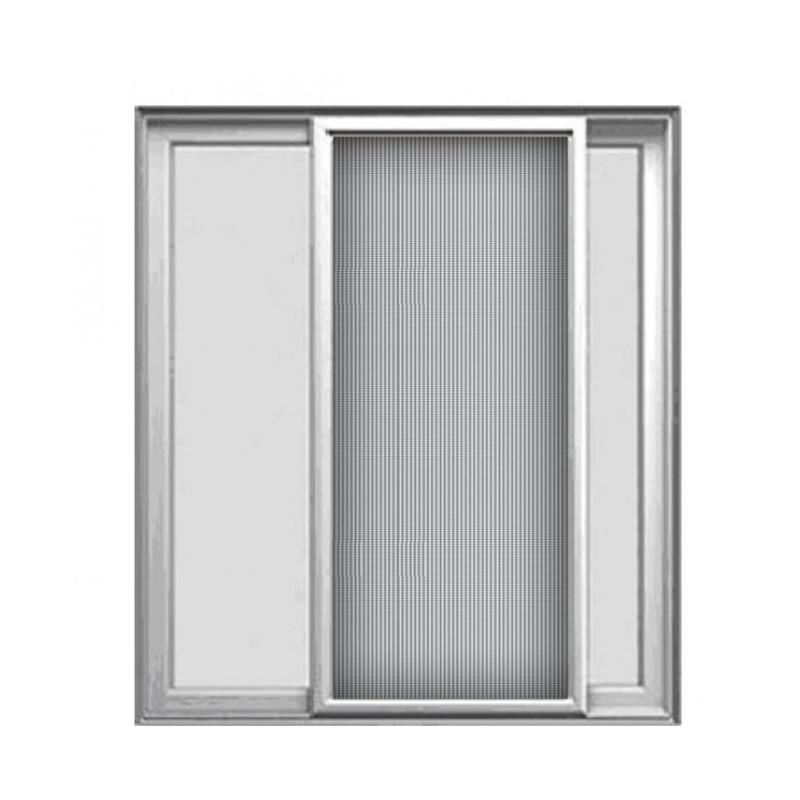 Σήτα συρόμενη επάλληλη για πόρτες και παράθυρα (βασικού τύπου)