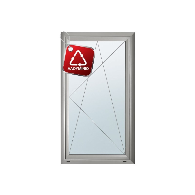 Παράθυρο Ανοιγόμενο Μονόφυλλο EUROPA 8500