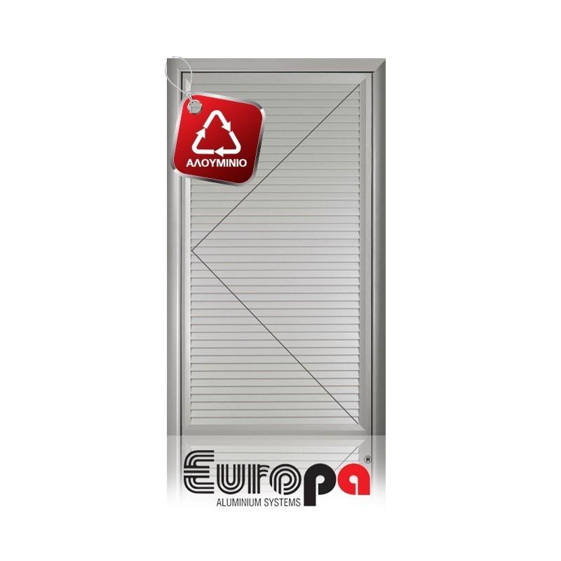 Πόρτα Ανοιγόμενη Μονόφυλλη EUROPA Με Δυνατότητα Αερισμού