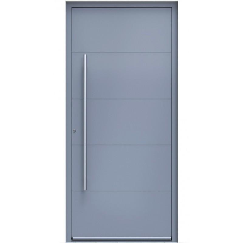 Πόρτα Οικίας Αλουμινίου Ασφαλείας WINDO X-110 με θερμομόνωση