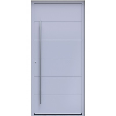 Πόρτα Οικίας Αλουμινίου Ασφαλείας WINDO X-120 με θερμομόνωση