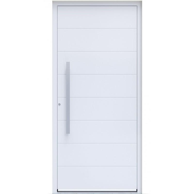 Πόρτα Οικίας Αλουμινίου Ασφαλείας WINDO X-130 με θερμομόνωση