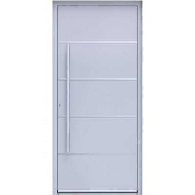 Πόρτα Οικίας Αλουμινίου Ασφαλείας WINDO X-160 με θερμομόνωση