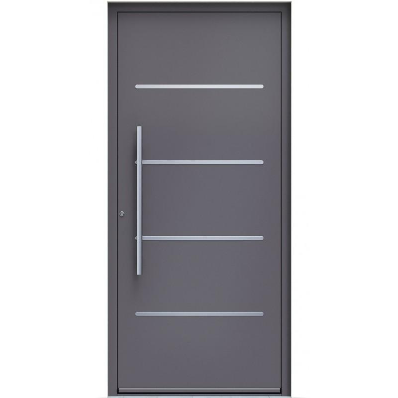 Πόρτα Οικίας Αλουμινίου Ασφαλείας WINDO X-170 με θερμομόνωση