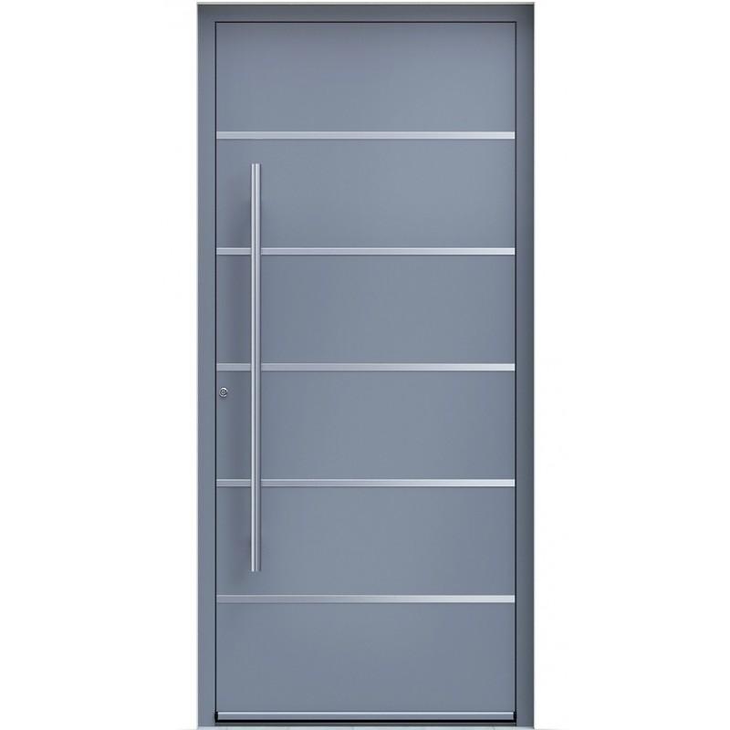 Πόρτα Οικίας Αλουμινίου Ασφαλείας WINDO X-180 με θερμομόνωση