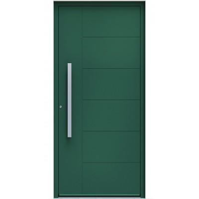 Πόρτα Οικίας Αλουμινίου Ασφαλείας WINDO X-370 με θερμομόνωση