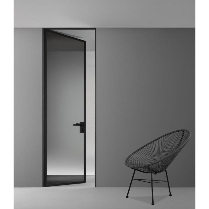 Γυάλινη Πόρτα Εσωτερικού Χώρου WINDO Α22 αξονική (χωρίς μεντεσέδες)