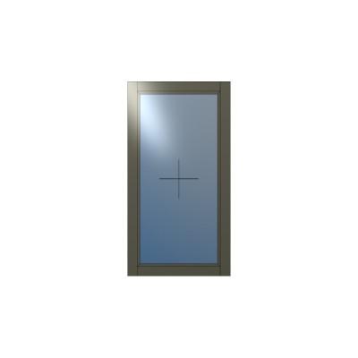 Ξύλινο Παράθυρο Σταθερό Winco68