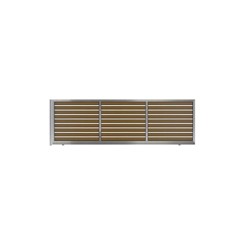 Αυλόπορτα συρόμενη WINDO Style Gates m481